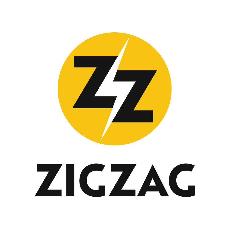 Newport Beach Electrician Logo Design for Zig Zag Inc