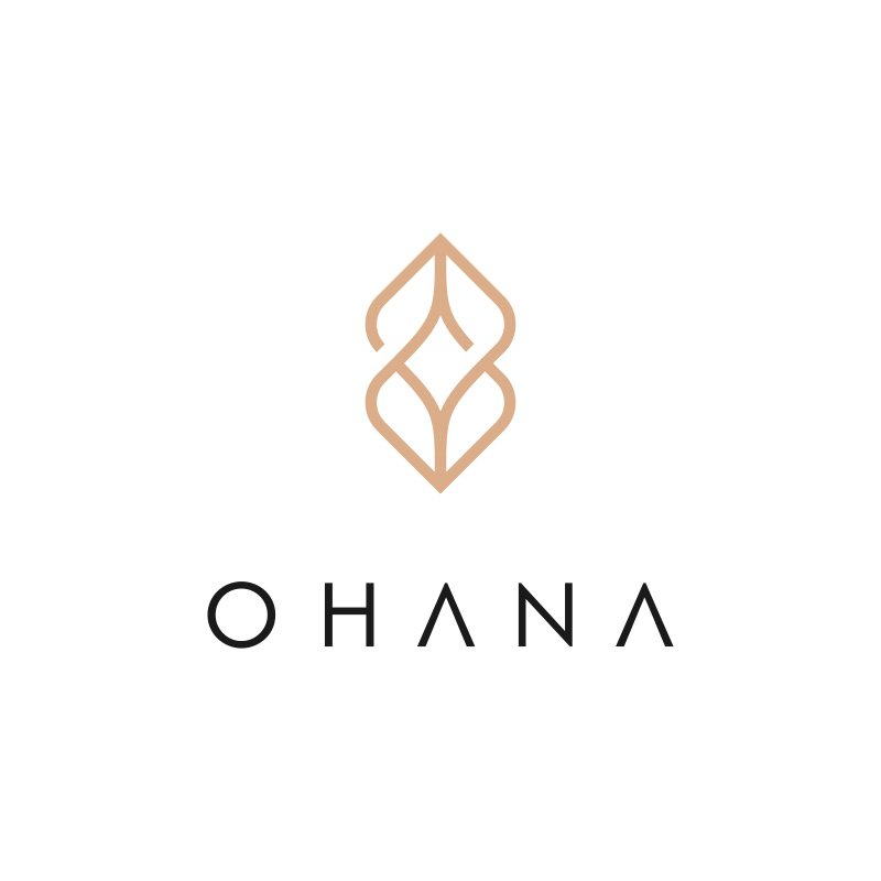 Jewelry Logo Design for eCommerce website ohana